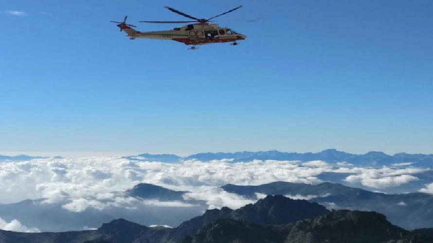 Valanga a Limonetto: grave in ospedale un alpinista