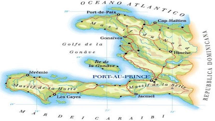 Cartina Geografica Haiti.Haiti Padre Miraglio E I Due Volontari Di Chiusa Pesio E Pianfei Stanno Bene Cuneocronaca It