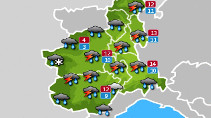 Previsioni Meteo Toscana: nuvole e possibili piogge nei prossimi giorni
