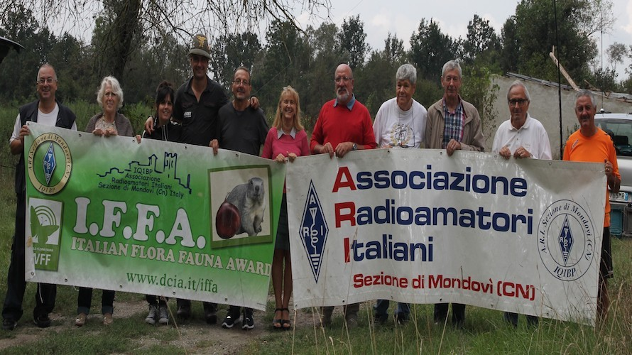 A Vicoforte il raduno dei radioamatori: soccorso, cultura e <b>arte</b> passano anche via etere