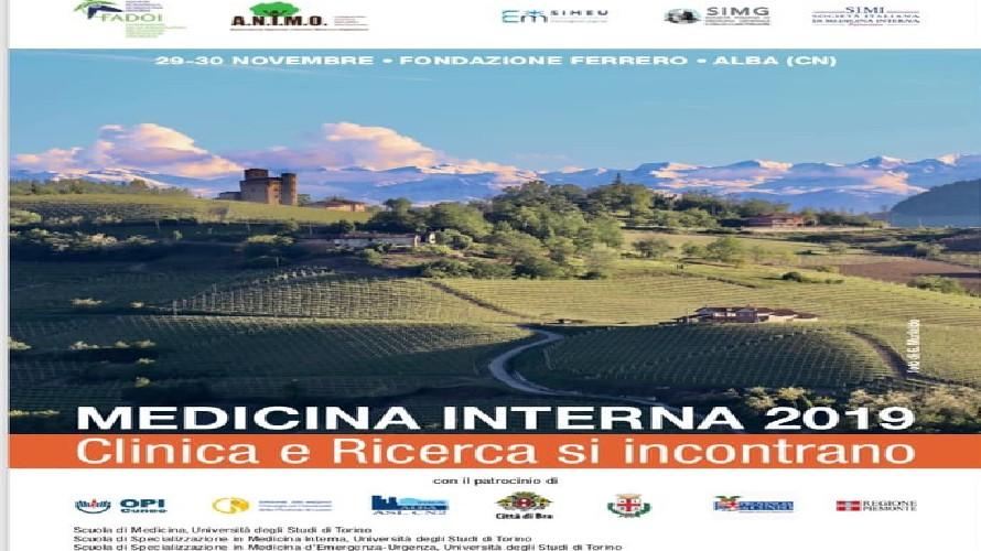 Alba: clinica e ricerca s'incontrano nel convegno di Medicina Interna 2019 con più di 80 specialisti - Cuneocronaca.it