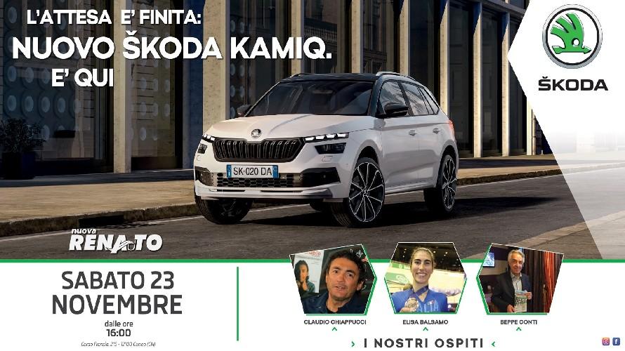 CUNEO/ Nuovo Kamiq della Skoda alla Nuova Renauto: ospiti e anteprima del modello - Cuneocronaca.it