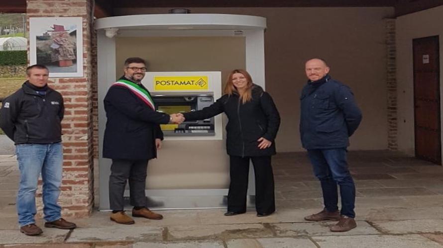 SALUZZO/ Inaugurato a Castellar il nuovo sportello automatico Atm Postamat - Cuneocronaca.it